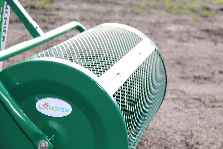 Landzie Compost Spreader Close-up