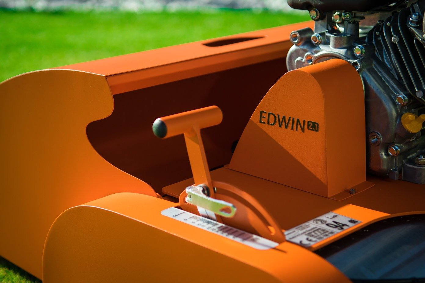 Edwin Orange Close Up