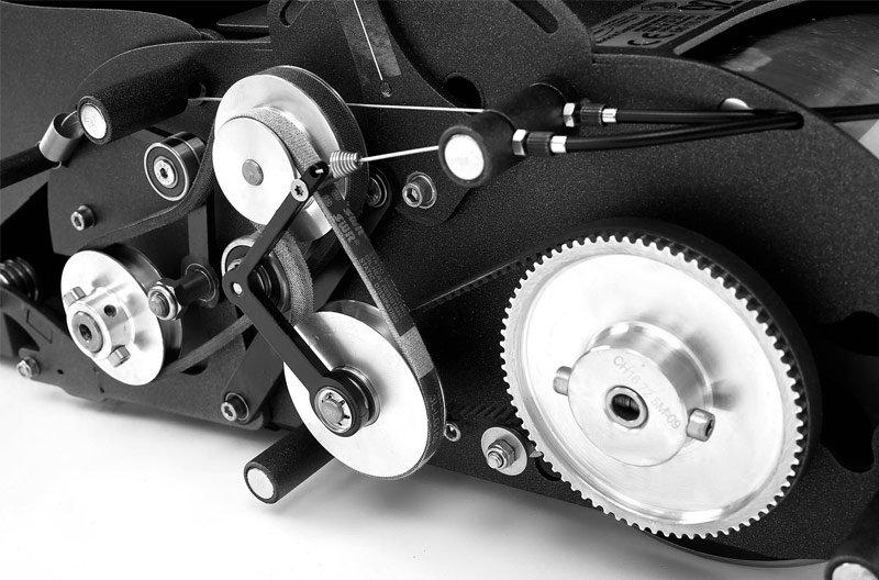 Swardman lawn mower gears