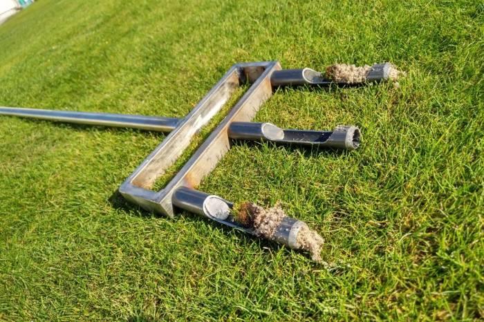 Swardman Hollow Tine Fork Aerator With Tines