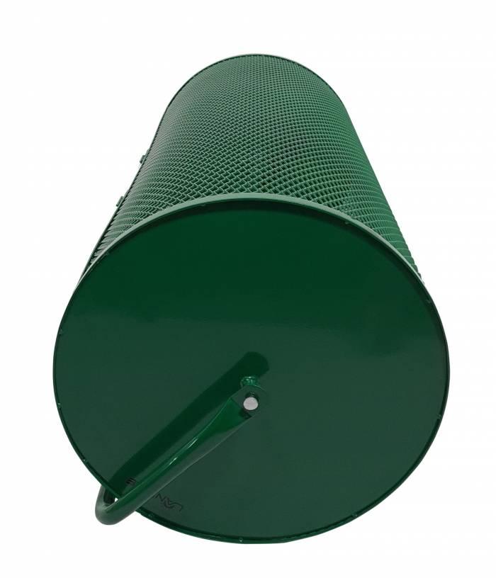 Landzie 44 inch compost spreader side end view