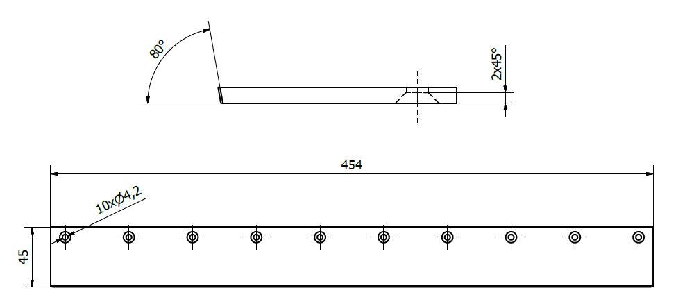 Swardman Cylinder Blade Sharpening Angle